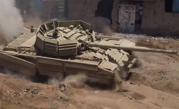 A CAA está tentando cortar em dois o grupo terrorista em Ghouta Oriental e privá-lo de suprimentos