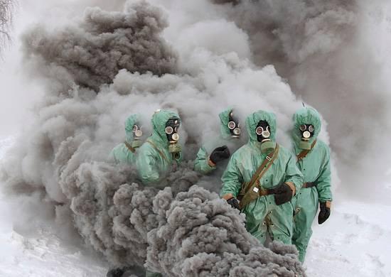 Войска РХБЗ провели в Приамурье учение по маскировке военных объектов