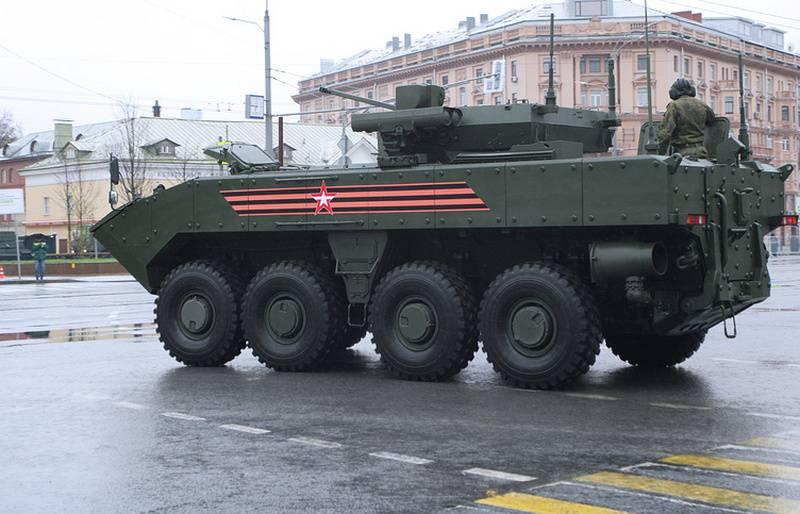 """Experte: Der in Entwicklung befindliche Panzer auf Rädern kann eine Waffe vom """"Octopus-SDM"""" erhalten"""