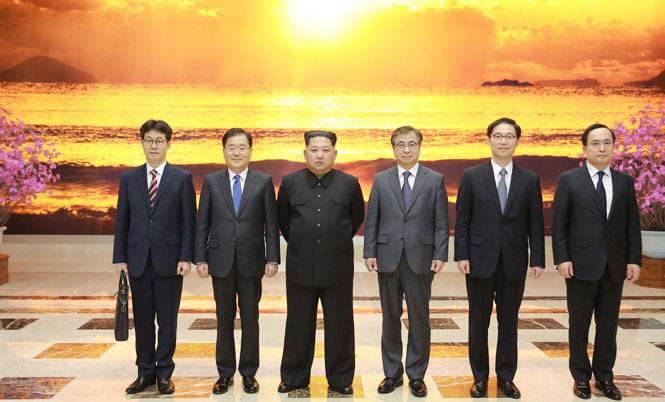 """Kim Jong-un s'est déclaré prêt à rencontrer le chef de la Corée du Sud """"dans le souci d'unifier la patrie"""""""