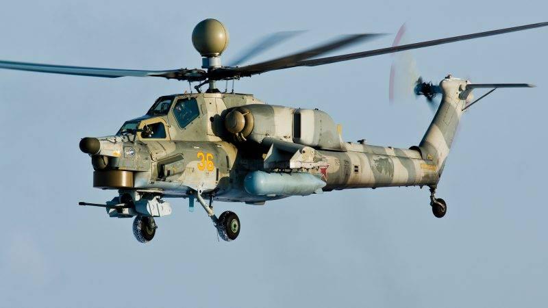 Russische Hubschrauber verfeinerten den Mi-28 nach Problemen in Syrien
