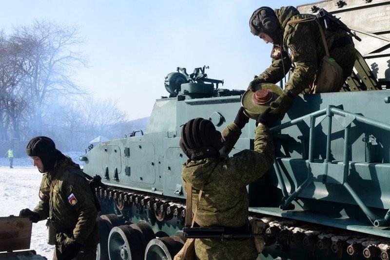 Российская армия получит новую систему минирования