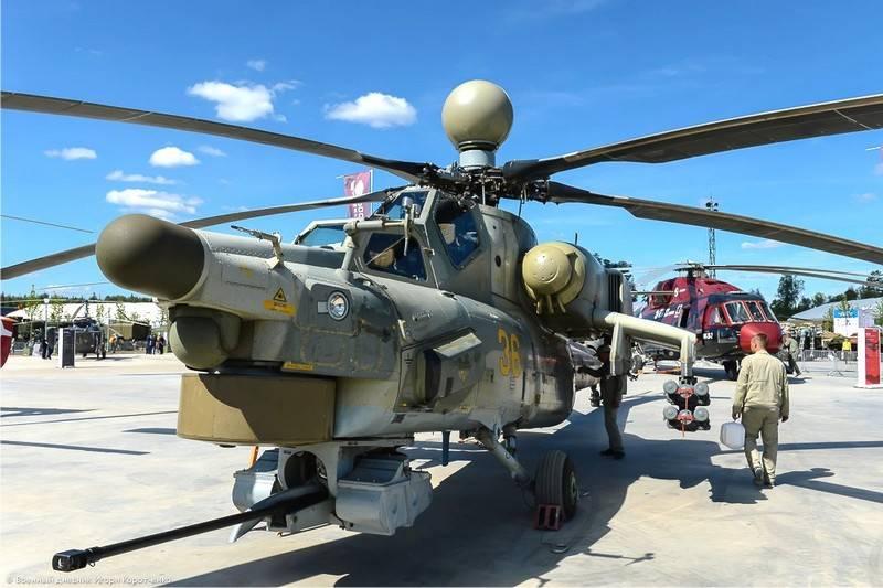 Bis Ende des Jahres wird die russische VKS zwei neue Serien Mi-28НМ erhalten