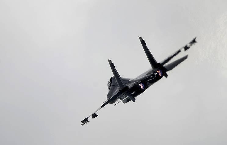 В Приморье и Бурятии истребители отработали удары по наземным целям