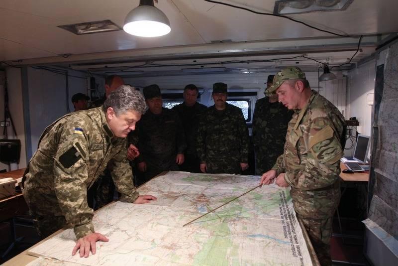 Der ukrainische Generalstab kündigte eine neue Militäroperation im Donbass an