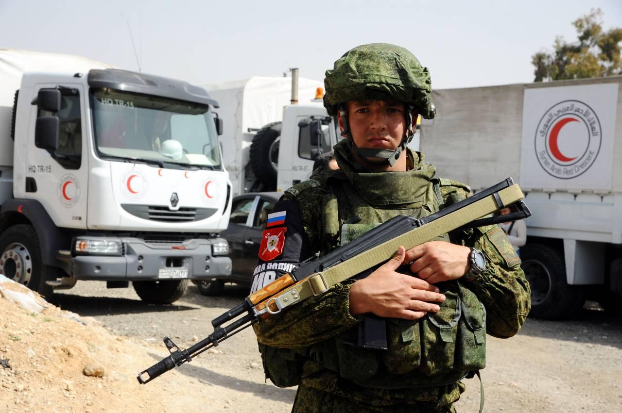 ООН: Гуманитарный конвой для граждан  Восточной Гуты обстрелян