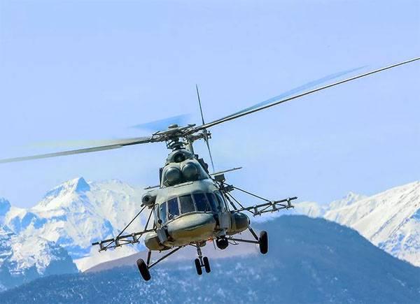 Nella Repubblica cecena, l'elicottero Mi-8 si è schiantato. Ci sono morti
