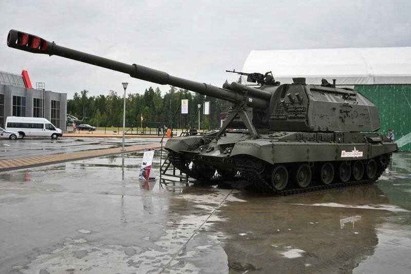 米国では、ロシアとアメリカの榴弾砲を比較