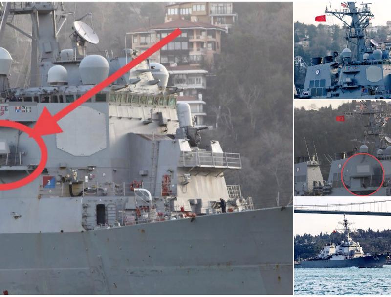 媒体:美国在黑海测试了新武器