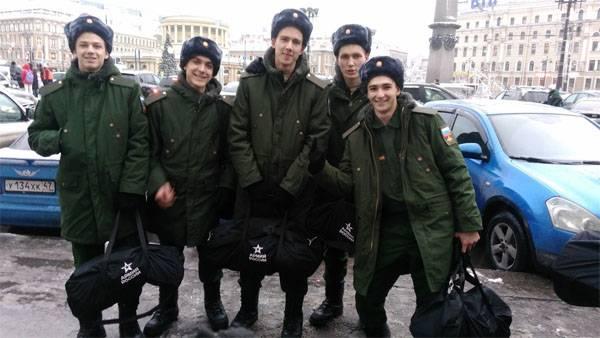 Российские призывники станут проходить психологический отбор