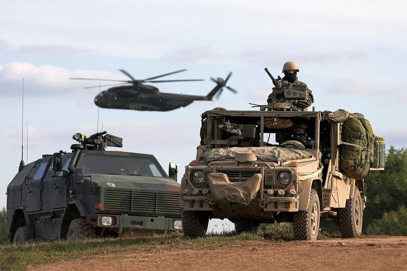НАТО планирует проведение масштабных учений у границ России