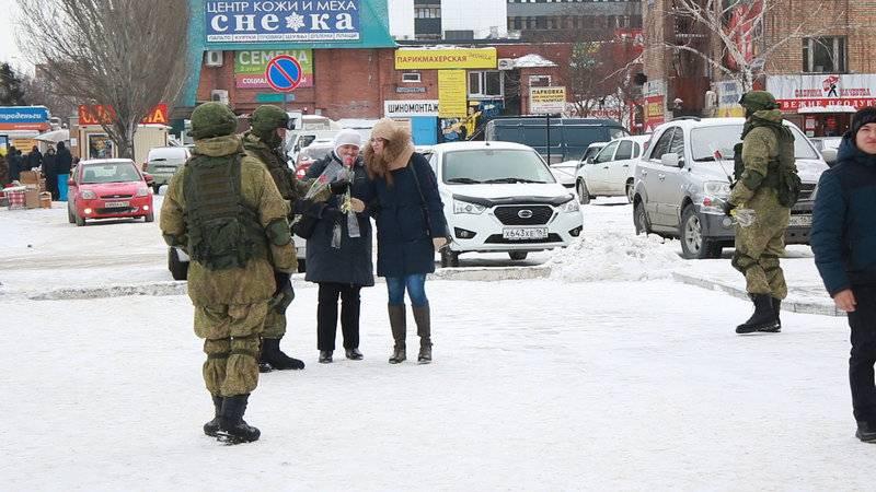 Спецназ ЦВО провел в Самарской области акцию «Вам, любимые»