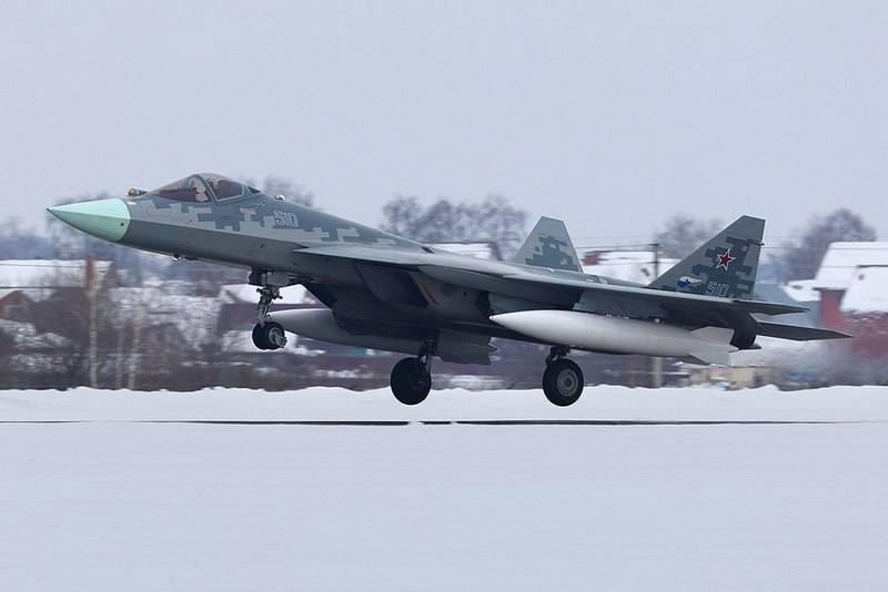 Последний из опытных образцов Су-57 прибыл на испытания в Жуковский