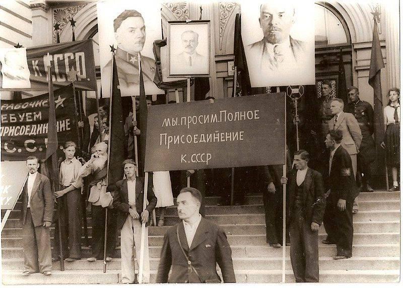 Warum haben die baltischen Staaten die sowjetischen Behörden glücklich getroffen?