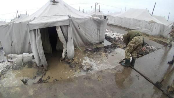 Украинцев поразили страшные  условия занятий  бойцов наполигоне— Адназемле