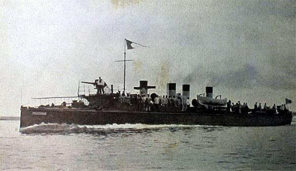 """La mémoire de l'équipage du légendaire destroyer """"Guarding"""" a été honorée à Saint-Pétersbourg"""