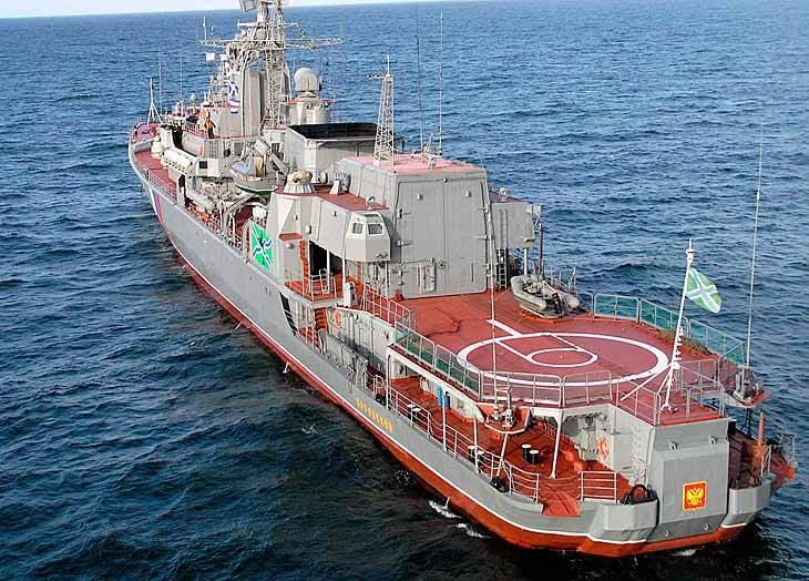 俄罗斯海军。 悲伤地展望未来。 护卫舰