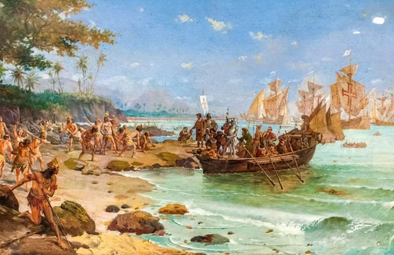 根据导航员海因里希的盟约。 通往印度的道路:Cabral Expedition