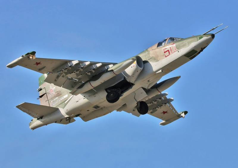 """Media: Russian Aerospace Force of the Russian Federation in April will receive 22 attack aircraft """"Grach"""" in the latest version of the Su-25CM3"""
