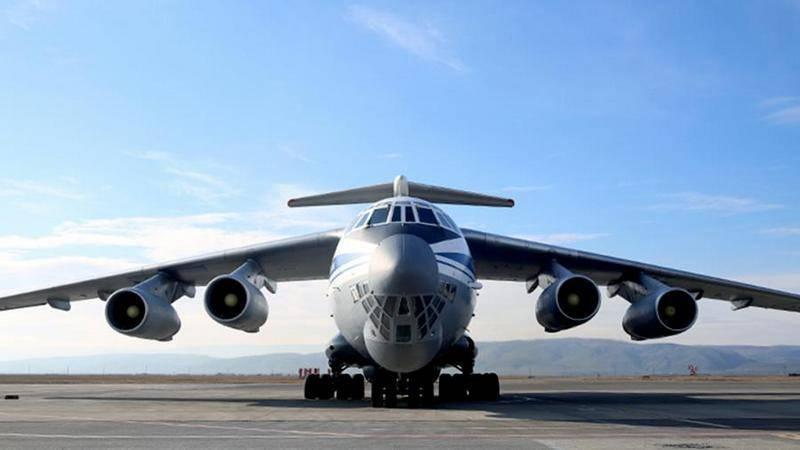 Verteidigungsministerium erhielt die erste aktualisierte IL-76MD-M