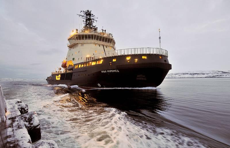 破冰船Ilya Muromets将参加俄罗斯-挪威的Barents-2018演习