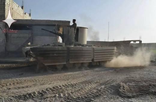 Сирийская армия под Дамаском задействовала «боевые бочки»