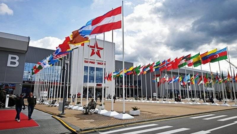 俄罗斯邀请128国家参加陆军2018论坛