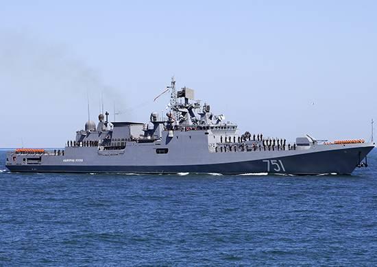 """A fragata """"almirante Essen"""" dirigiu-se aos estreitos do mar Negro"""