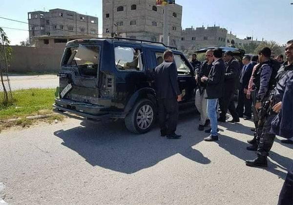 Всекторе Газа взорвали кортеж премьера Палестины