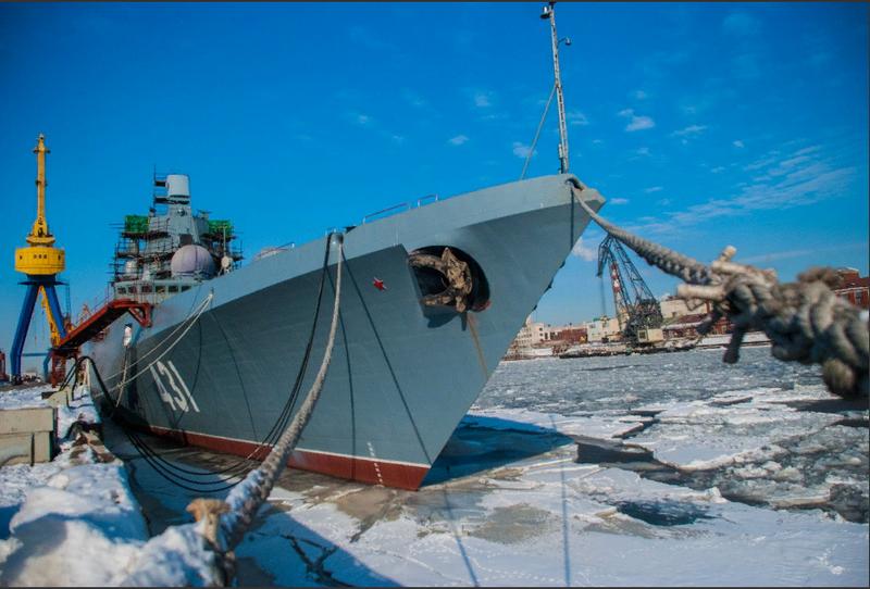 """Kuzey tersanesi: Fırkateyn """"Kasatons filosunun amiri"""" ekibin taşınması için hazır."""