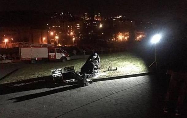 """En Lviv, una explosión en el monumento de las """"águilas"""" polacas"""