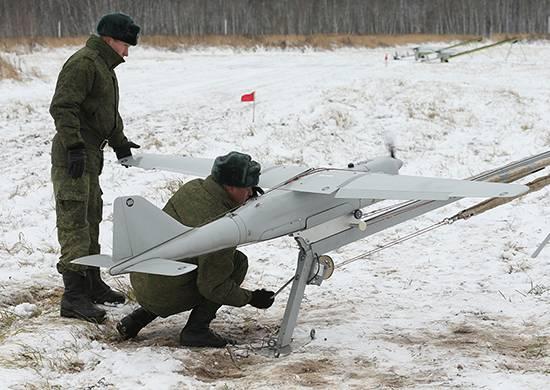 """БПЛА """"Орлан-10"""" на Тоцком полигоне используют для корректировки контрбатарейного огня"""