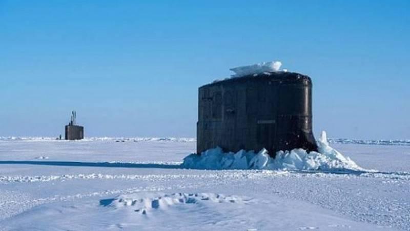 ВМС США провели учения в Арктике