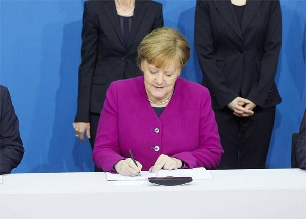 Меркель в четвёртый раз подряд стала канцлером ФРГ