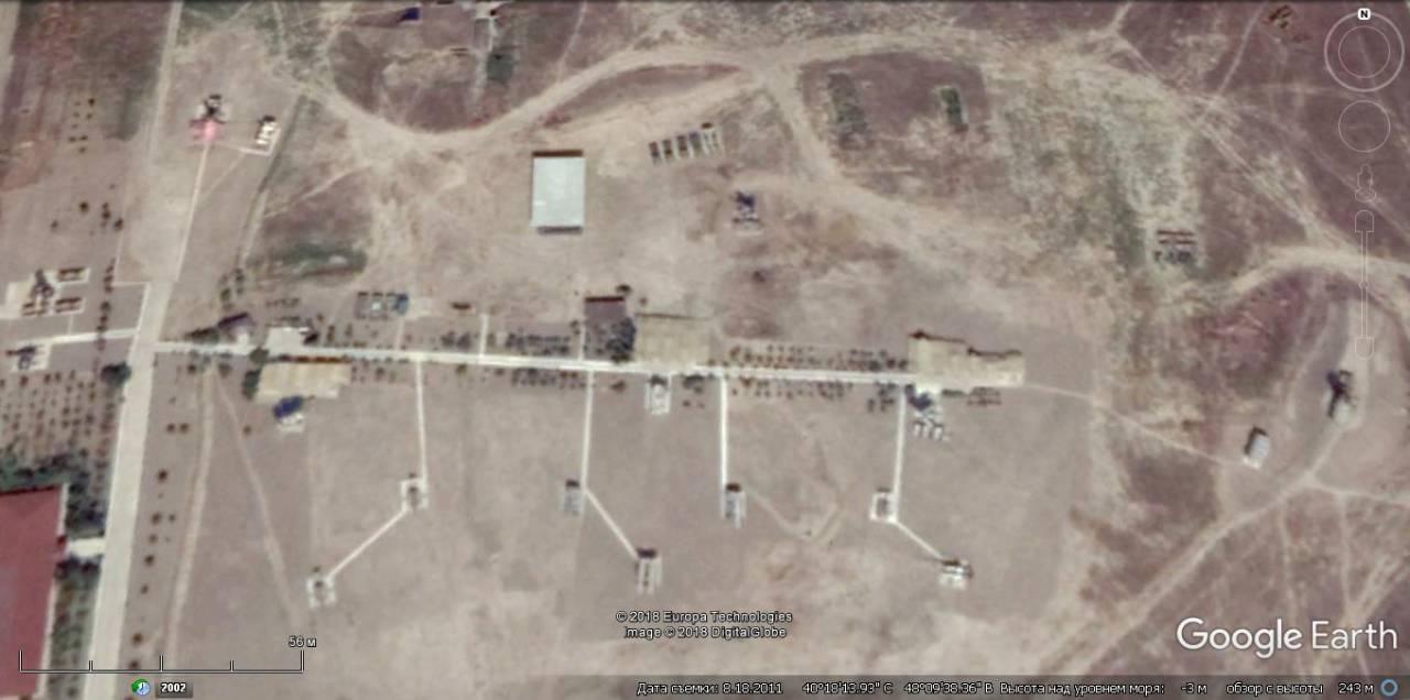 Точка №3 уничтожения в Азербайджане