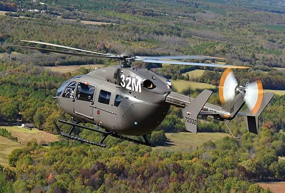 Il Pentagono ha ordinato ulteriori elicotteri UH-72A Lakota