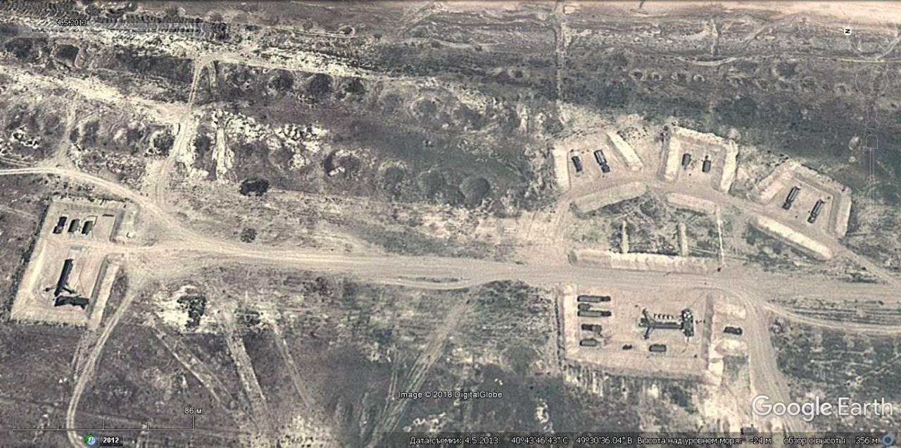 Точка №2 уничтожения в Азербайджане