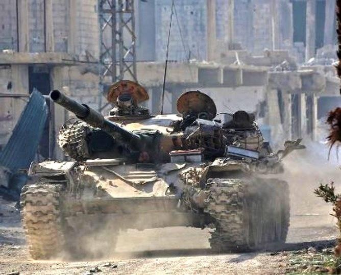 """叙利亚油轮正在经历缺乏""""反应装甲"""""""