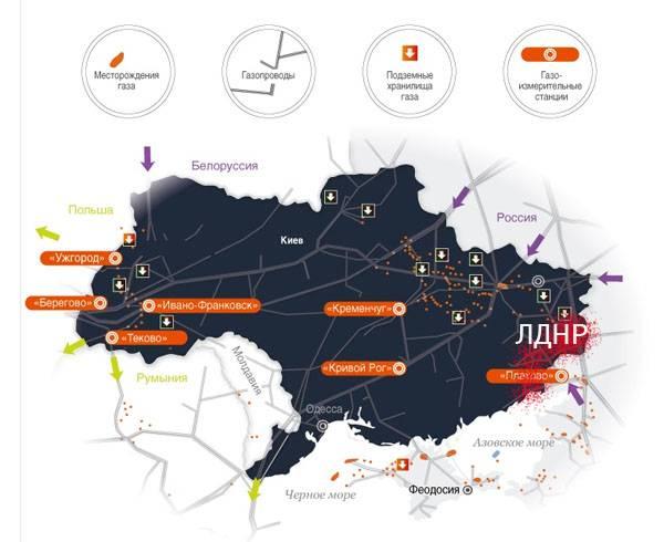 우크라이나 가스 운송은 XNUMX이됩니까?