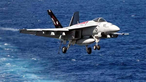 Крушение F/A-18 в США. Лётчики погибли