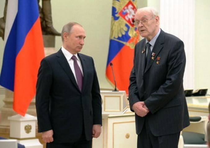 One of the creators of hypersonic weapons Herbert Efremov turned 85 years