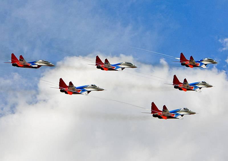 """Pilotos da equipe acrobática Swifts chegaram à Armênia para participar do festival de aviação """"Friendship-2018"""""""