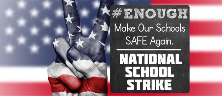 В США начались масштабные акции протеста студентов против свободной продажи оружия с 18 лет