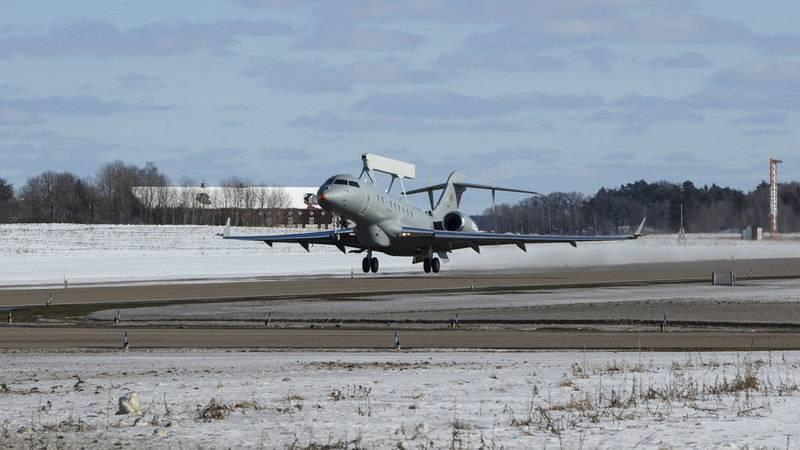 Un nouvel avion de reconnaissance suédois effectue son premier vol