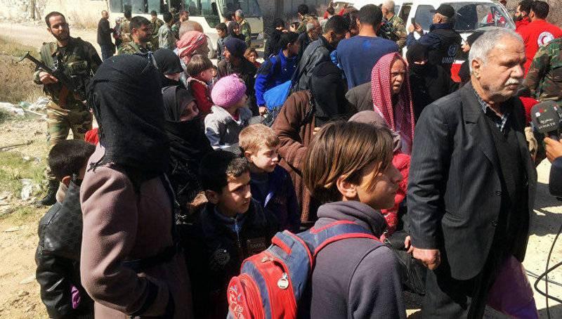 Über 4 Tausende Zivilisten verließen am Donnerstag das östliche Guta