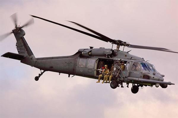 Американский военный вертолёт потерпел крушение у границы Ирака и Сирии. Есть погибшие
