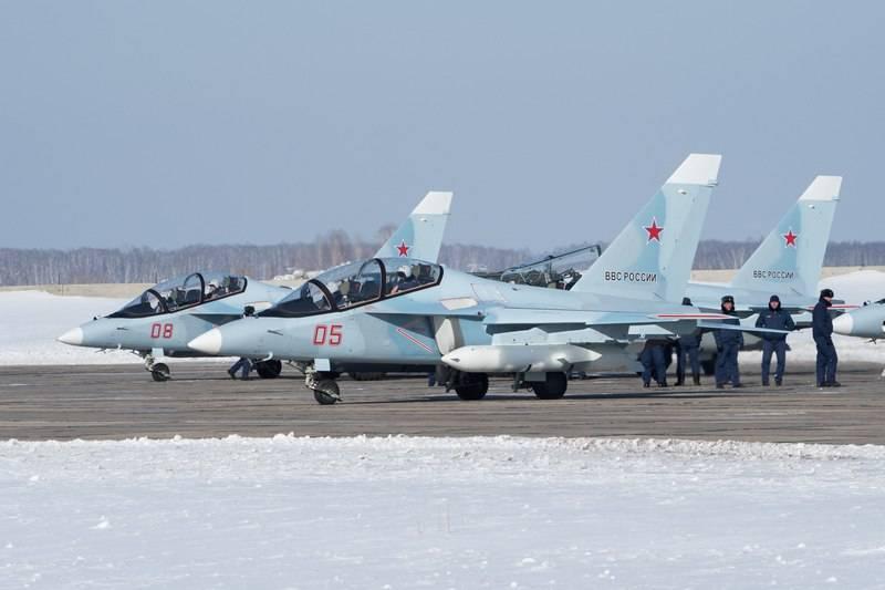 4 명의 새로운 Yak-130이 러시아의 VKS로 옮겨졌습니다.