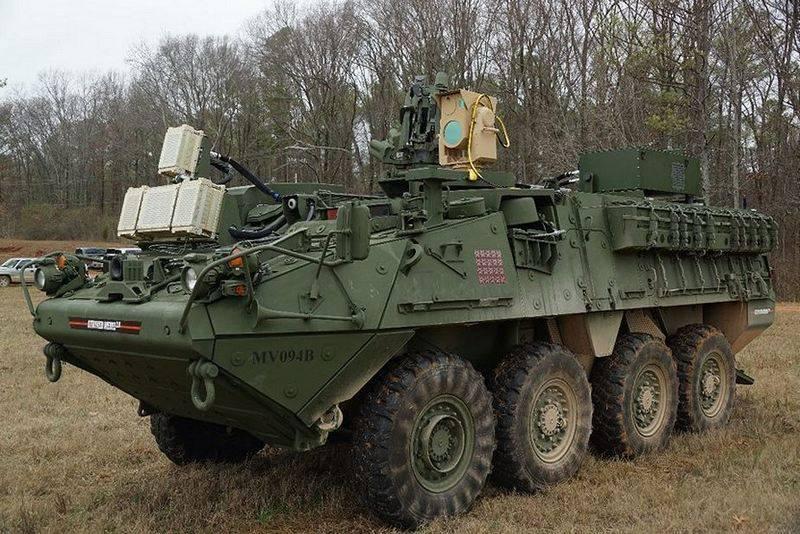 США перебросили в Европу Stryker с лазерной установкой