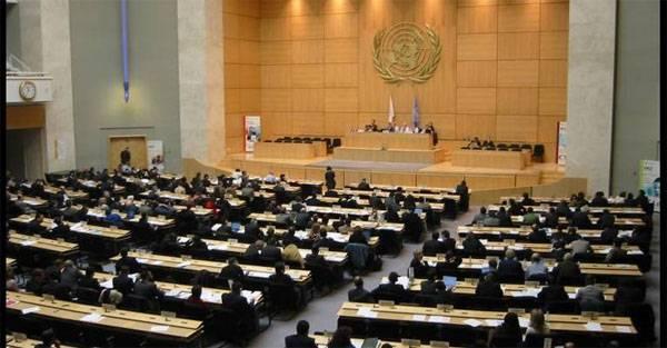 В ООН сорвали выступление России