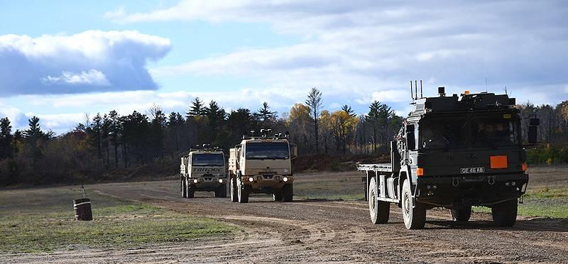 Deserted convoys: the near future